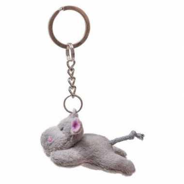 Tas sleutelhanger nijlpaard 6 cm