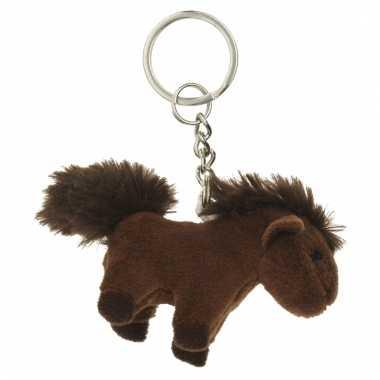 Tas sleutelhanger paard 6 cm