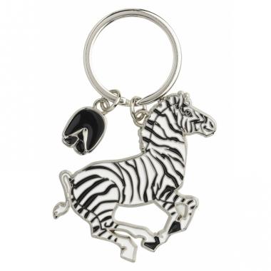 Tas sleutelhanger zebra 5 cm