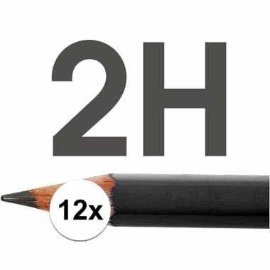 Technisch tekenen potloden hardheid 2h