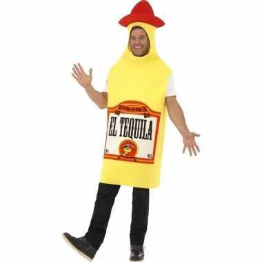 Tequila fles kostuum voor heren