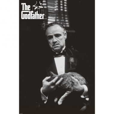 The godfather gangster poster 61 x 91,5 cm zwart wit