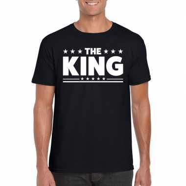 The king heren t-shirt zwart