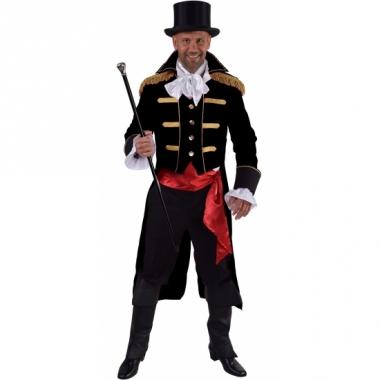 Theater zwart markgraaf kostuum