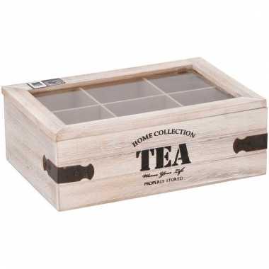 Theedoos 6 vaks home collection tea 10099905