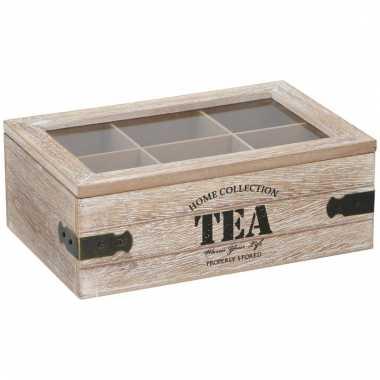 Theedoos 6 vaks home collection tea