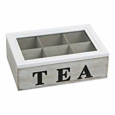 Theedoos 6 vaks tea