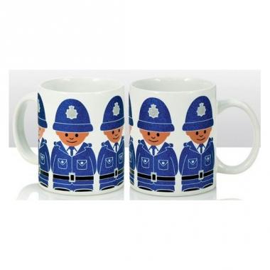 Theemok politiemannen10 cm
