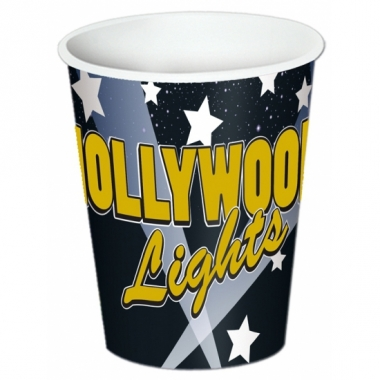 Thema bekers hollywood 8 stuks