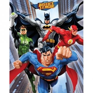 Thema dc comics striphelden mini poster 40 x 50 cm