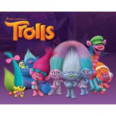 Thema trolls characters mini poster 40 x 50 cm