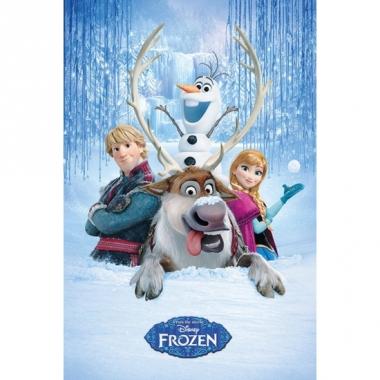 Themafeest frozen poster sven 61 x 91,5 cm