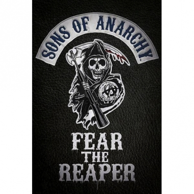 Themafeest sons of anarchy poster 61 x 91,5 cm