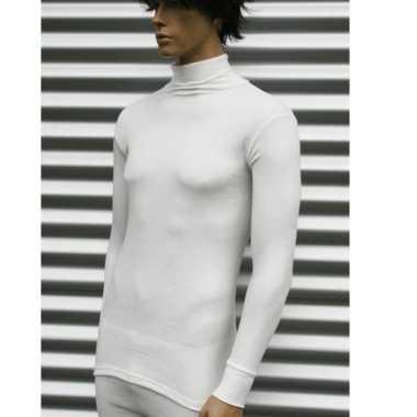Thermo col shirt met lange mouwen volwassenen