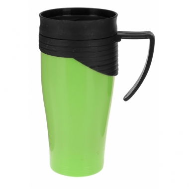 Thermos autobeker groen 420 ml