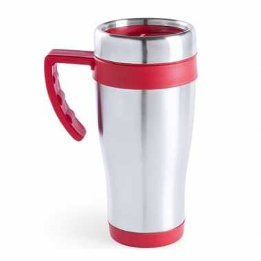 Thermos bekers rood 500 ml