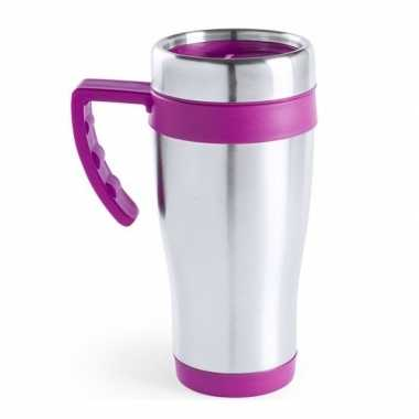 Thermos bekers roze 500 ml