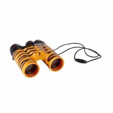 Tijger verrekijkers voor kinderen 11 cm