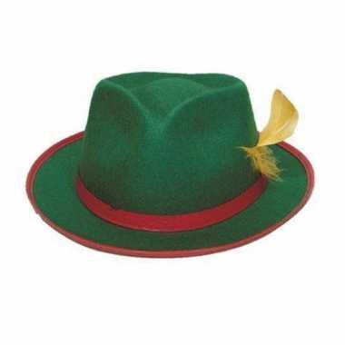 Tiroler hoeden groen