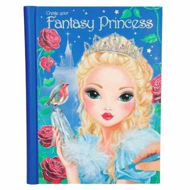 Topmodel prinses ontwerp boek deluxe voor meisjes