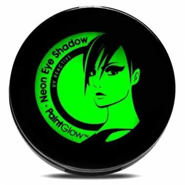 Uv make up groene oogschaduw