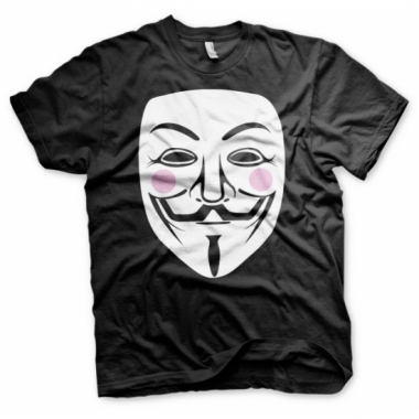 V for vendetta kleding heren t-shirt