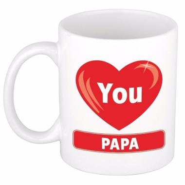 Vaderdag cadeau mok voor papa 300 ml