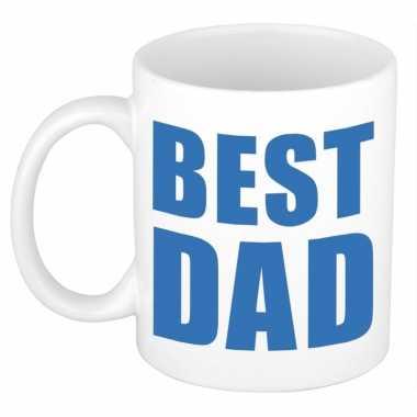 Vaderdag mok / beker best dad 300 ml