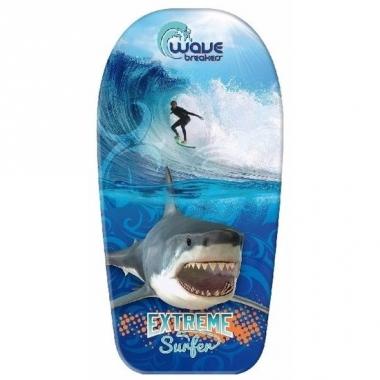 Vakantie bodyboard haai/sufer