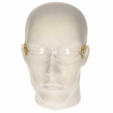 Veiligheidsbril geel voor kinderen