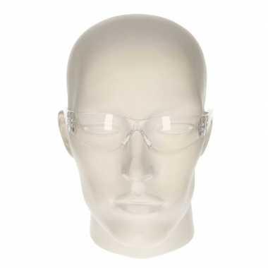 Veiligheidsbril transparant voor kinderen