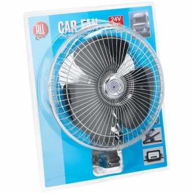 Ventilator voor in de vrachtwagen/auto met 24v aansluiting