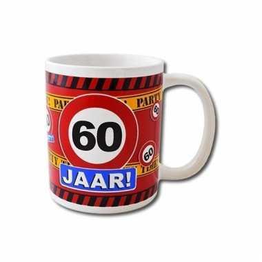 Verjaardag 60 jaar mok / beker 250 ml