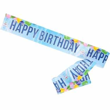Verjaardag slinger voor aan de muur happy birthday