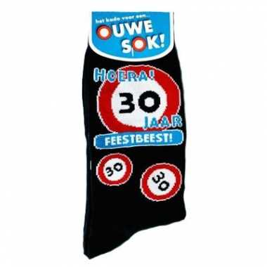 Verjaardag sokken 30 jaar