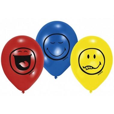 Verjaardags ballonnen met smileys