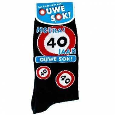 Verjaardags sokken 40 jaar