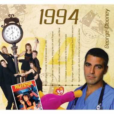 Verjaardagskaart met geboorte jaar 1994
