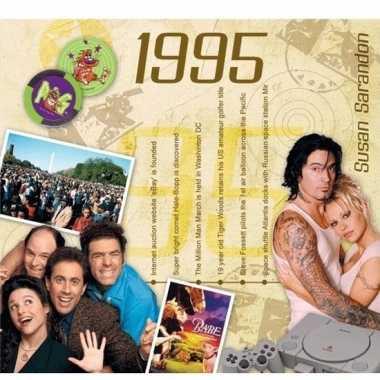 Verjaardagskaart met geboorte jaar 1995
