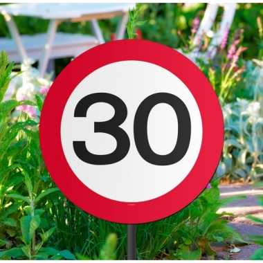 Verkeersbord 30 jaar