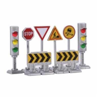 Verkeersborden en stoplichten speelset type 1