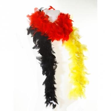 Verkleed boa rood/geel/zwart 180 cm
