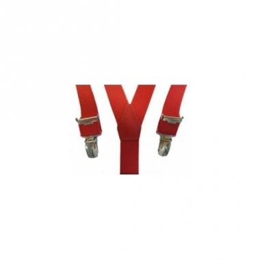 Verkleed bretels rood voor meisjes