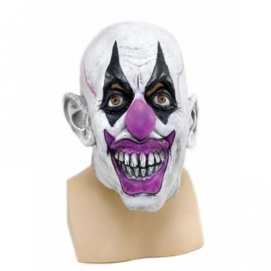 Verkleed eng clown masker van latex