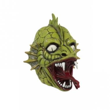 Verkleed eng monster masker van latex