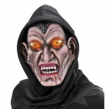 Verkleed eng vampieren masker van latex