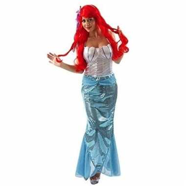 Verkleed jurkje zeemeerminnen voor dames