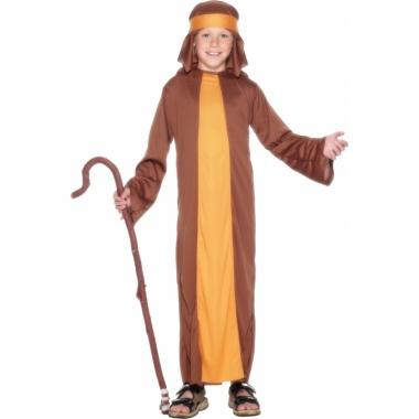 Verkleed kostuum schapenherder bruin
