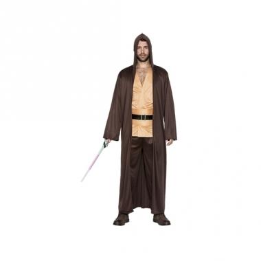Verkleed meester luke skywalker look-a-like kostuum