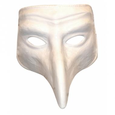 Verkleed wit comedy masker